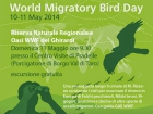 World Migratory Bird Day - oasi WWF dei Ghirardi